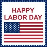 Happy Labor Day. Stock Image