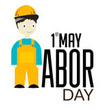 Happy Labor Day. Vector illustration of a background for Happy Labor Day Stock Photo