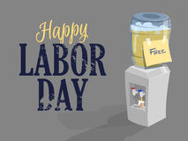 Happy labor day. Vector Stock Images