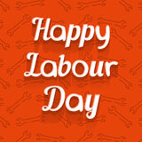 Happy Labour Day Royalty Free Stock Photography