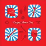 Happy Labour Day Stock Images