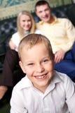Happy lad Stock Photos