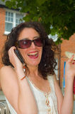 Happy lady. Stock Photography