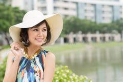 Happy lady Royalty Free Stock Photos