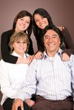 Happy latin american family Royalty Free Stock Photo