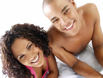 Happy latin bed. Stock Image