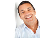 Happy latin man Stock Photography