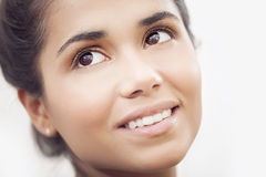 Happy latin woman portrait. Happy latin beautiful woman portrait Stock Image