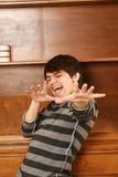 Happy latino-asian man Stock Image