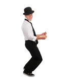 Happy Latino Dancer Stock Photography