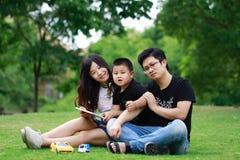 Free Happy Latino Family Reading Book Royalty Free Stock Photo - 104826445