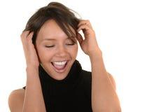 Happy Latino Woman Stock Photos
