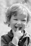 Happy laughing child Royalty Free Stock Images