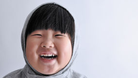 Happy Laughing KID. She could not stop laughing Royalty Free Stock Images