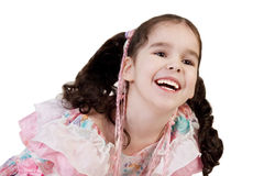 Happy laughing little girl Royalty Free Stock Images