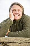 Happy laughing man. Stock Images