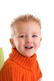 Happy laughing two year old Royalty Free Stock Photography