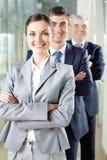 Happy leader Stock Photography