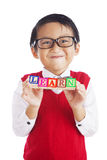 Happy Learner Royalty Free Stock Photo