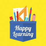 Happy Learning Royalty Free Stock Photo