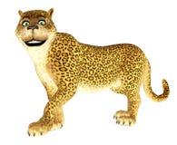 Happy Leopard Stock Photo