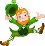 Happy Leprechaun stock illustration