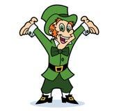 Happy Leprechaun Stock Photo