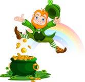 Happy Leprechaun Stock Photos