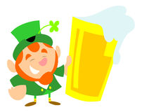 Happy Leprechaun Royalty Free Stock Image