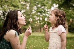Happy life time - mother with child Stock Photography
