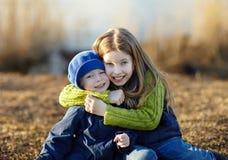 Happy lifestyle kids Stock Image