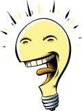 Happy Lightbulb Stock Image