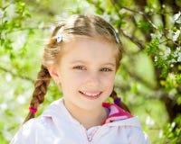 Happy liitle girl Stock Photography