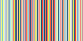 Happy Lines seamless background, funny blue yellow orange and white stripes vector texture. Colorful seamless background, stripes vector texture Stock Photography