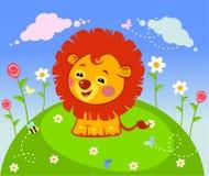 Happy lion Royalty Free Stock Photos