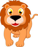 Happy Lion Standing Stock Images