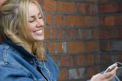 Happy Listening Royalty Free Stock Photo