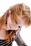 Happy listening Stock Photo