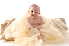 Happy little baby Royalty Free Stock Photo