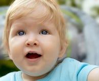 Happy little baby Stock Photos