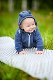 Happy little baby boy Stock Image