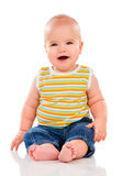 Happy Little Baby Royalty Free Stock Image