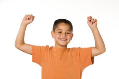 Happy little boy Stock Photos