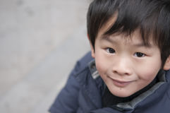 Happy little boy. In China Royalty Free Stock Photo