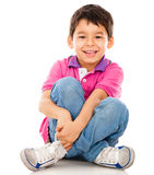 Happy little boy Royalty Free Stock Photo