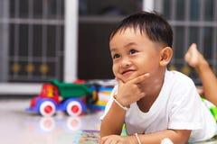 Happy Little Boy Stock Images