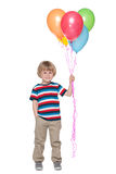 Happy little boy with balloons Royalty Free Stock Photo