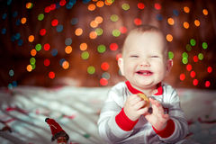 Happy little boy Royalty Free Stock Images