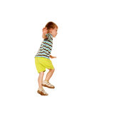 Happy little boy dancing Royalty Free Stock Photography