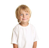 Happy little boy isolated Royalty Free Stock Images